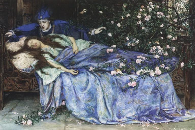 Henry Meynell Rheam - Sleeping Beauty 1899   WikiCommons