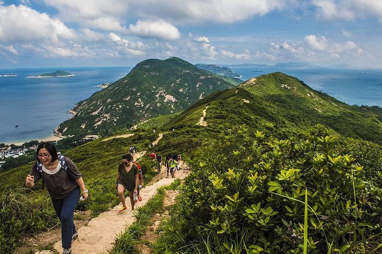 Hiking Hong Kong
