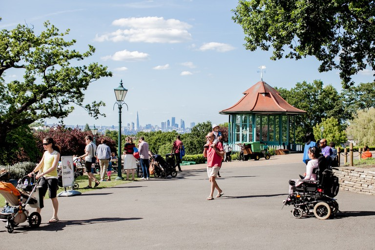Horniman Gardens' London Skyline | Photo: Sophia Spring