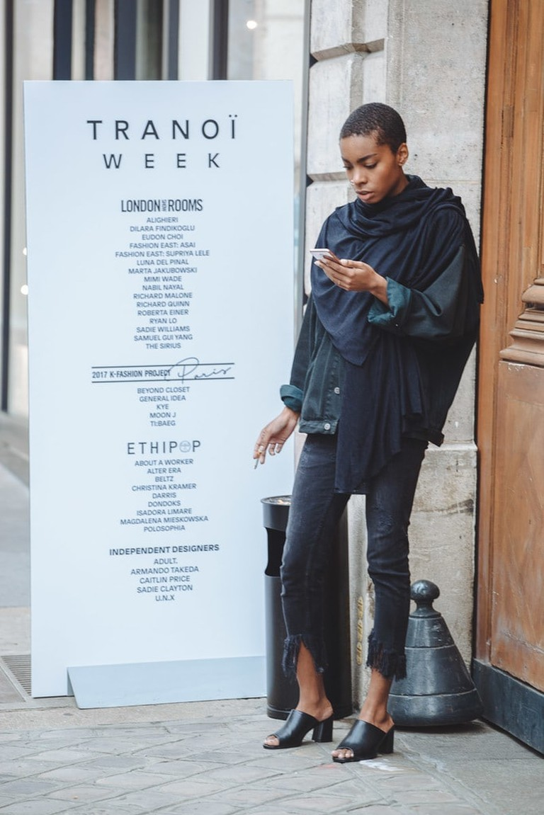 Outside the London Showrooms | Caroline Peyronel / © Culture Trip