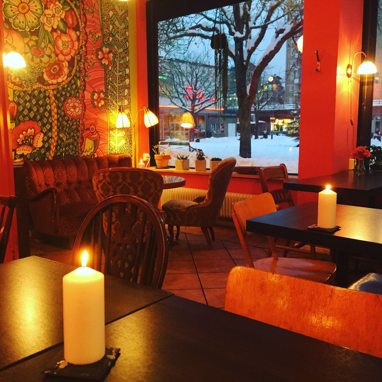 A cosy café interior I Courtesy of Ma Baker's