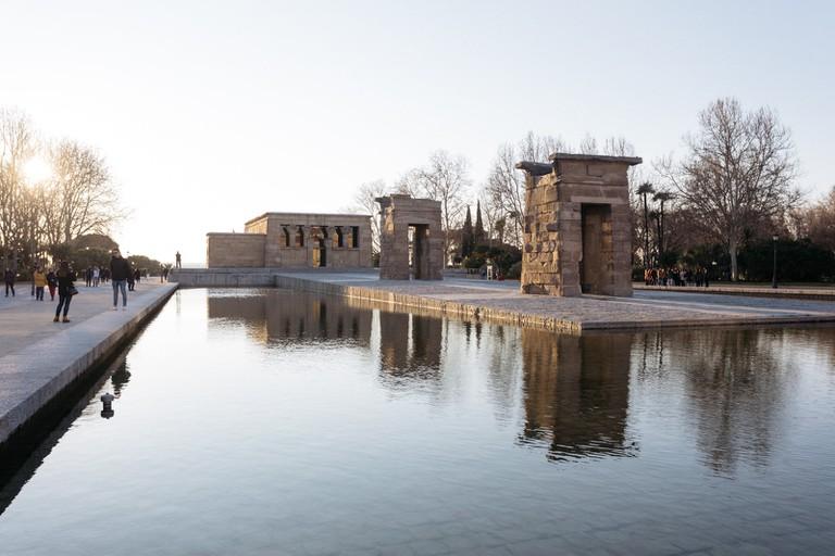 Templo Debod-Madrid-Spain
