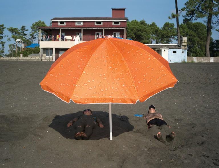 Kolkhida, Georgia, Magnetic Sand ©Claudine Doury/Fuel-designs.com