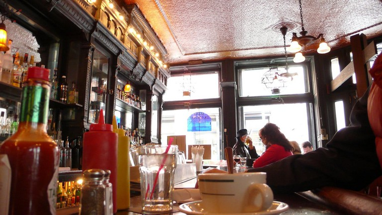 Brunch in a historic cafe in San Telmo