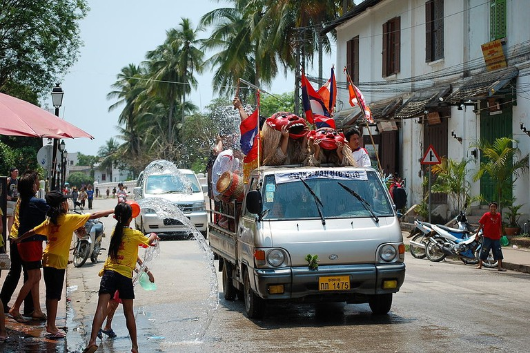 Lao New Year   © Darren On The Road/WikiCommons