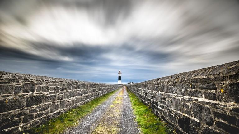 Lighthouse at Aran Islands, Ireland