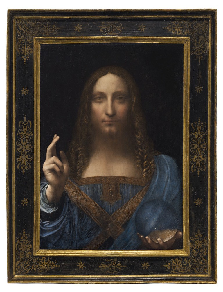 Leonardo da Vinci, 'Salvator Mundi', ca. 1500   © Christie's Images Ltd. 2017
