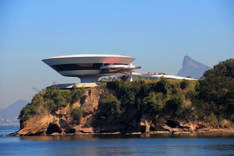 Neimeyer's futuristic museum in Rio