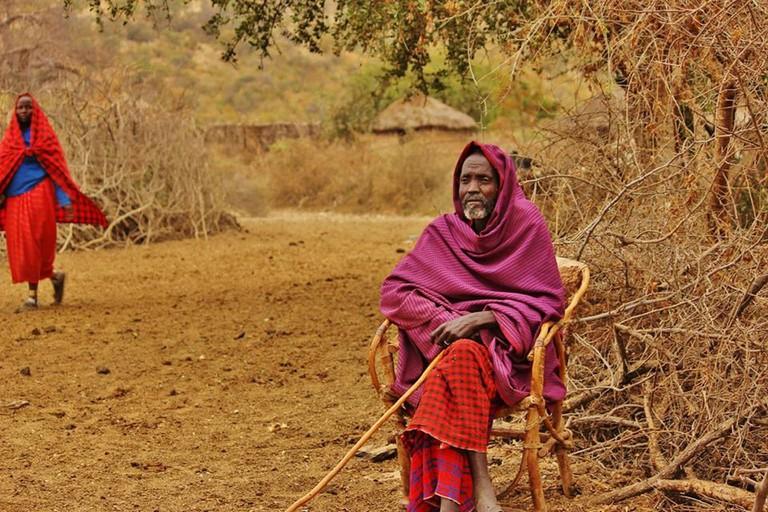 Masaai elder