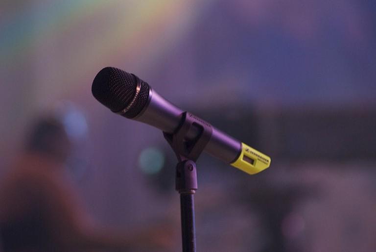 Bust out singing at karaoke | ©Paul Hudson / Flickr