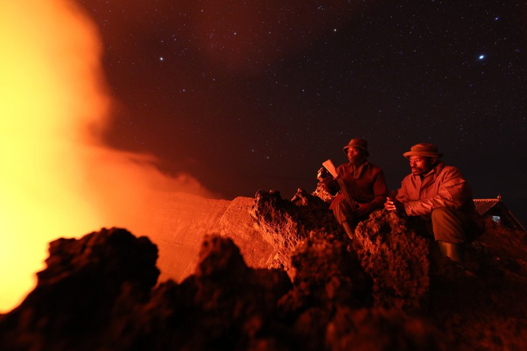 Mt. Nyiragongo | © MONUSCO Photos / Flickr
