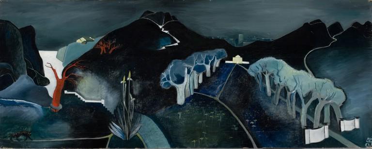 Tove Jansson, 'Mysterious Landscape', 1930 | Ateneum Art Museum. Photo: Finnish National Gallery / Hannu Aaltonen.
