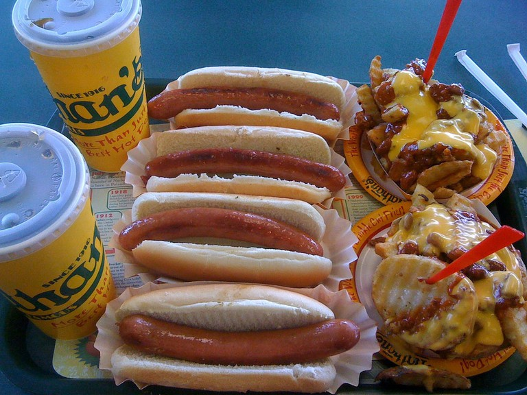 Nathan's Famous hot dogs | joeymanley Flickr