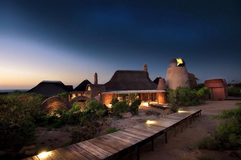 Observatory Bush Villa_dome
