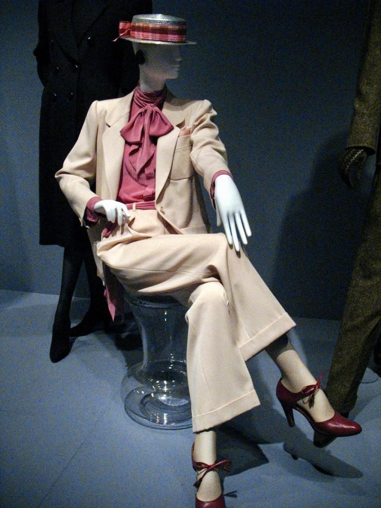 One of Yves Saint Laurent iconic pantsuit designs ©David Hilowitz: WikiCommons