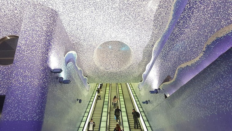 Toledo Metro Station | © Andrea favia/WikiCommons