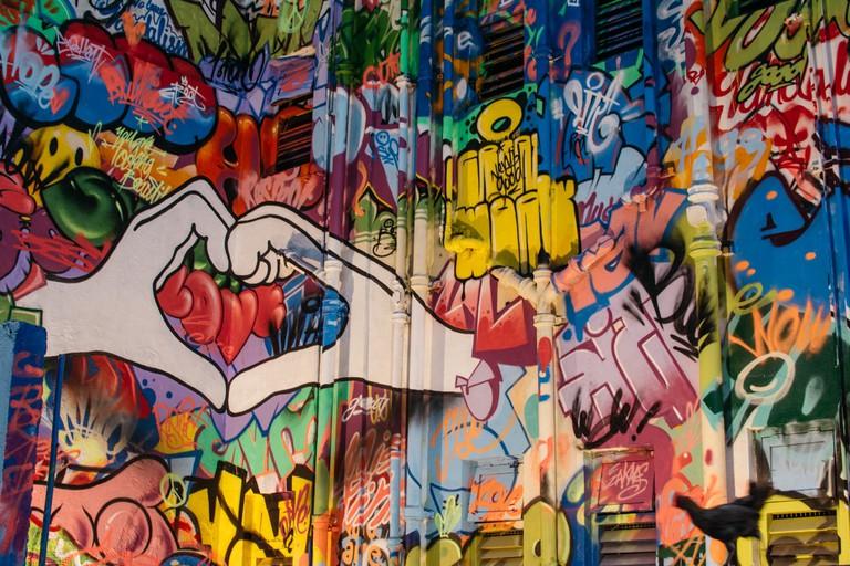 A mural on the docks | Shalu Khandelwal / © Culture Trip