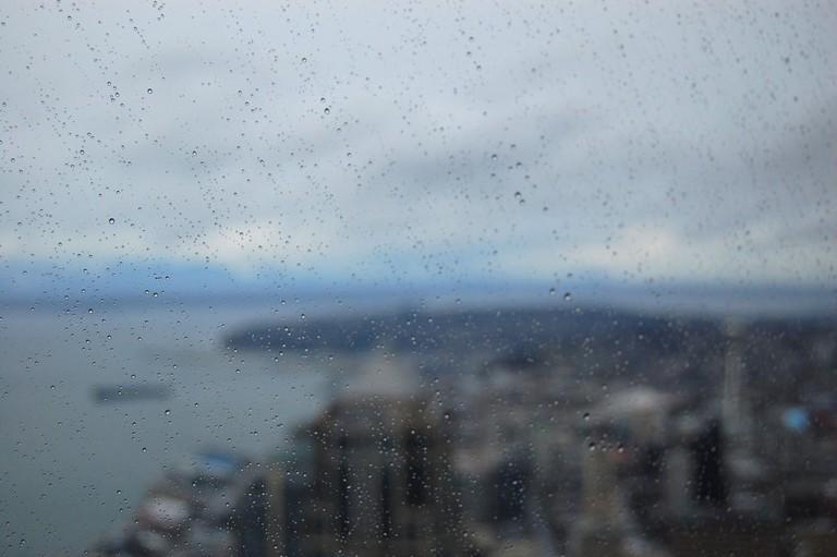 Seattle Rain   © ArtBrom / Flickr