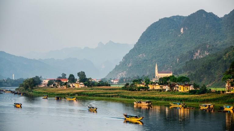 National Park of Phong Nha Ke Bang, Vietnam
