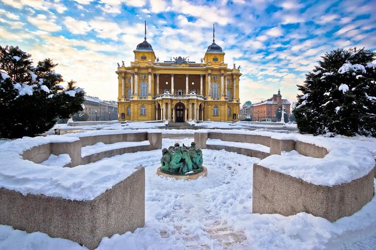 National Theatre, Zagreb | © xbrchx/Shutterstock