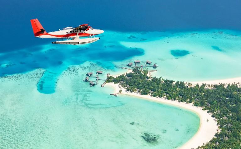 Seaplanes over the Maldives   © Durch/Shutterstock