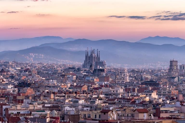 Barcelona's skyline | © basiczto / Shutterstock