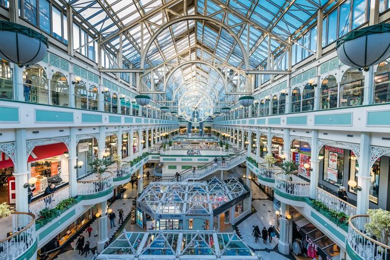 Stephen's Green Shopping Centre, Grafton Street, Dublin | ©abd/Shutterstock
