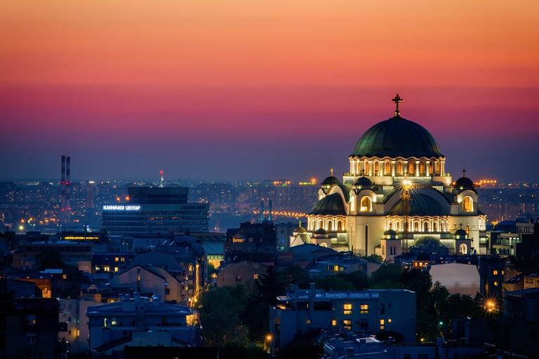 It is difficult to miss Saint Sava Church in Belgrade | © Nenad Dedomacki / shutterstock