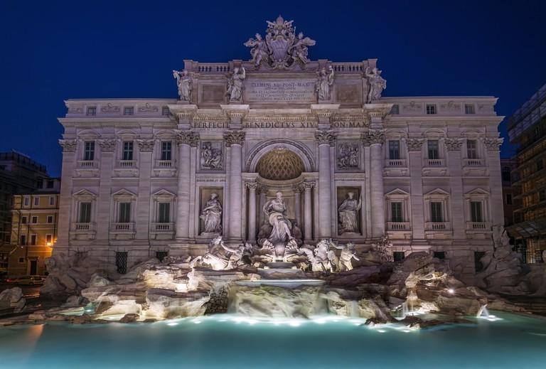 The Trevi Fountain | © Shutterstock