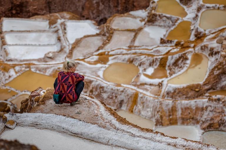 Salt mines in Maras, Peru | © Flavio Huamani/Shutterstock