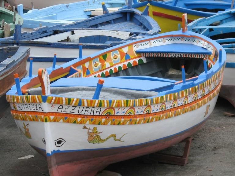 Sicily Boats Island Sea