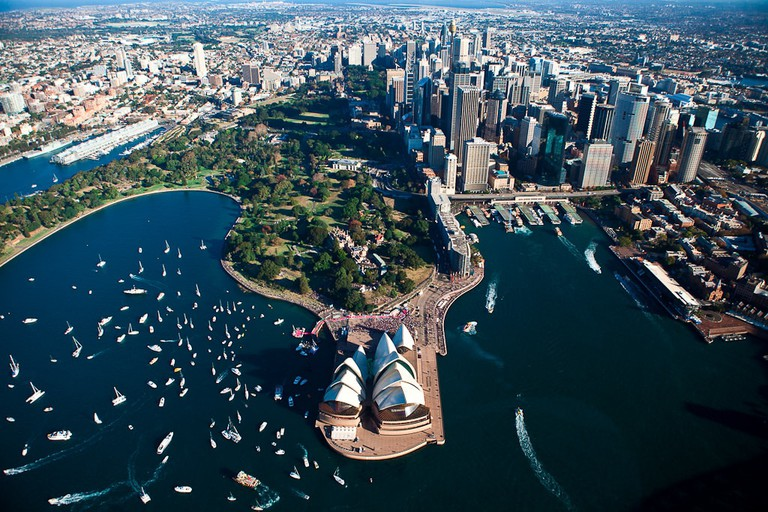 Sydney from above | © Pavel_Wikimedia Commons