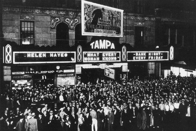 Tampa theatre in 1934 | Courtesy of Tampa Theatre