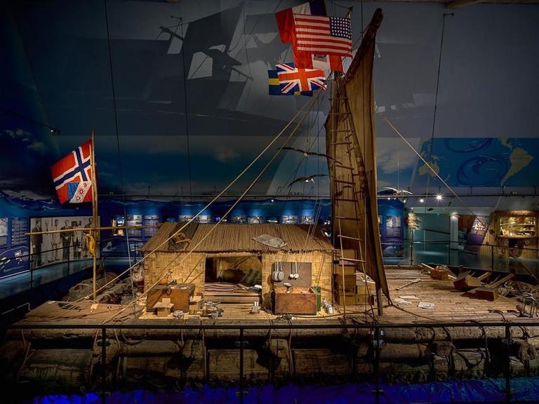 The Kon-Tiki raft | Courtesy of The Kon-Tiki Museum
