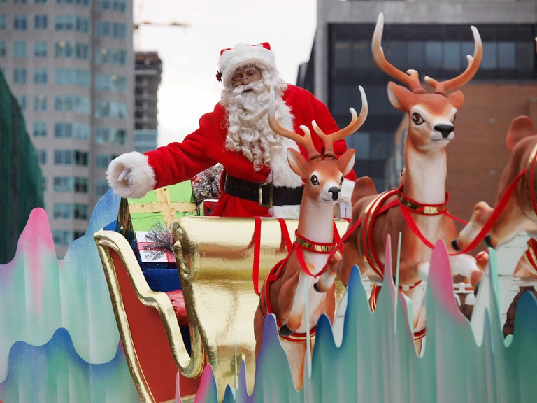 The Santa Claus Parade | Courtesy of Tourism Toronto