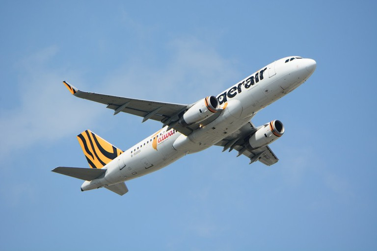 Tigerair plane   © Masakatsu Ukon_Flickr