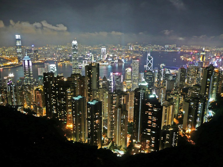 View from The Peak Hong Kong