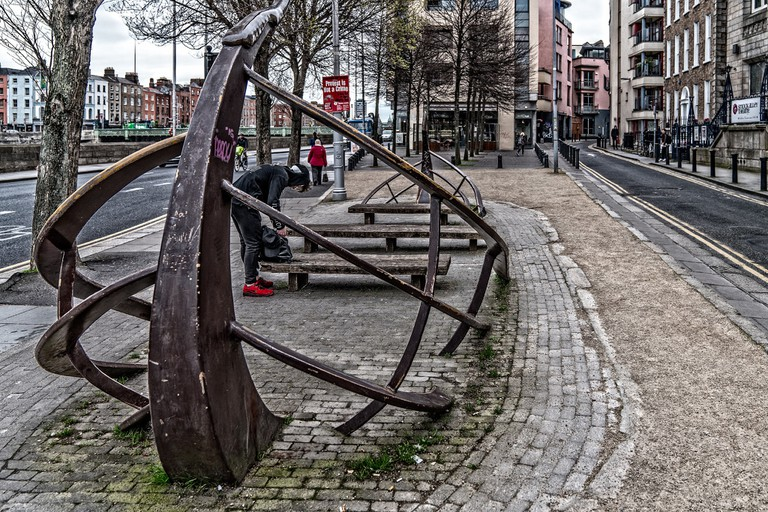 Viking sculpture Dublin