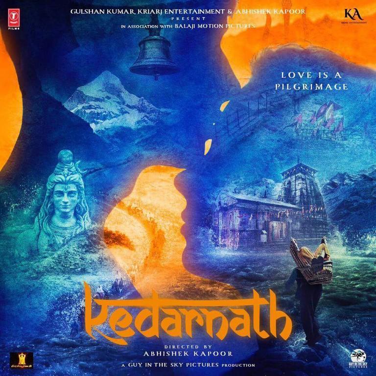 Film poster of Kedarnath