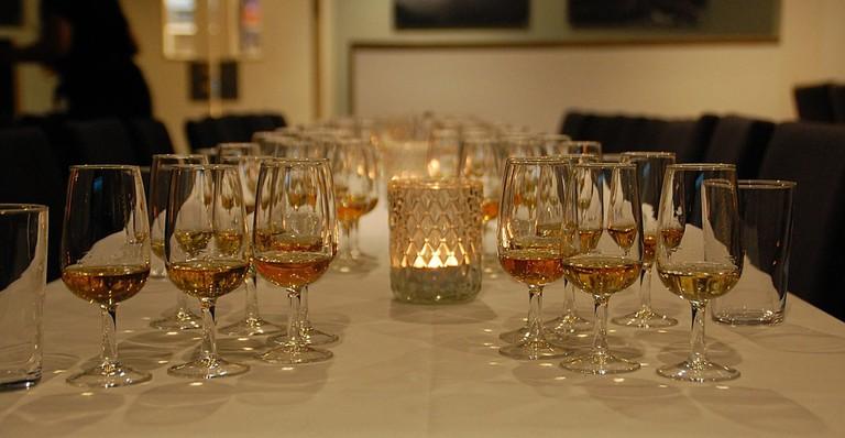 Whisky tasting   Courtesy of Myken Destilleri
