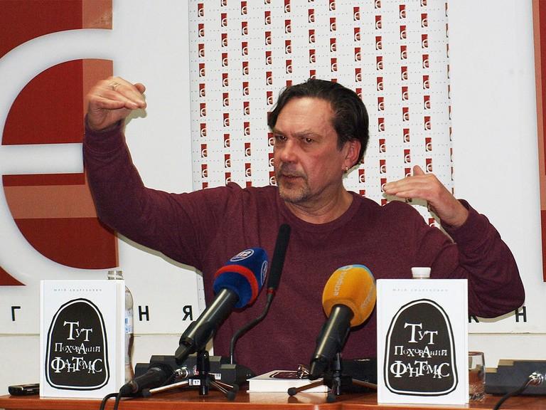 Yuri_Andrukhovych_in_Kyiv