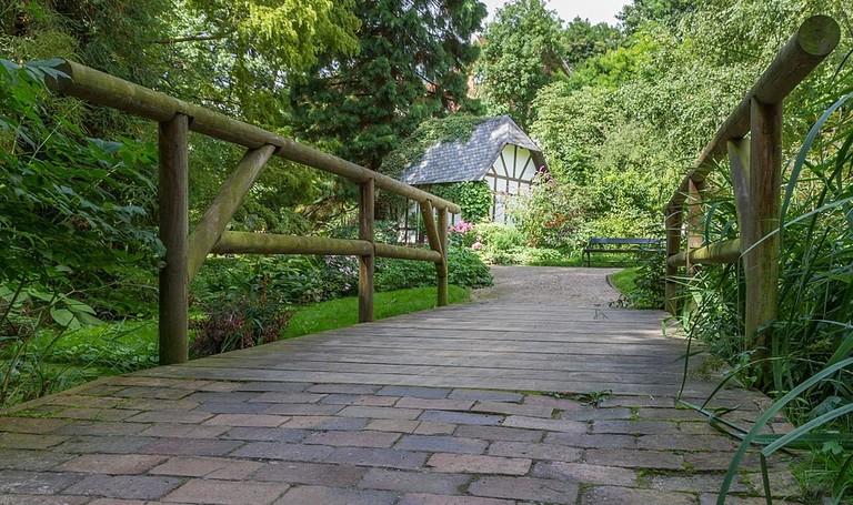 Old botanical gardens, Kiel