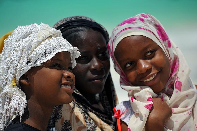 Island people of Zanzibar