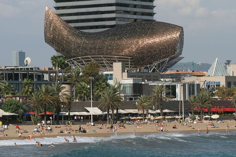 Frank Gehry's Fish, Barcelona | ©Till Niermann / Wikimedia commons