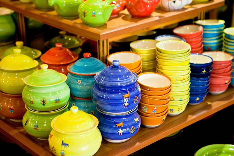 Meybod, Natanz, and Lalejin are known for their pottery | © Ninara / Flickr