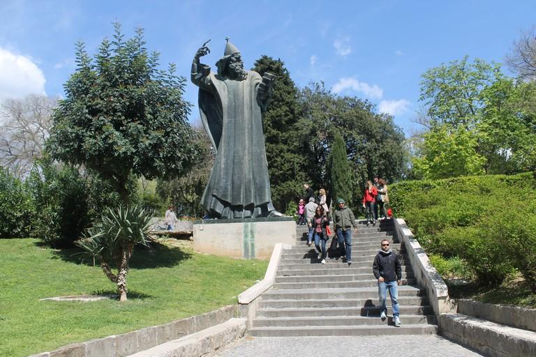 Grgur Ninski statue, Split   © Connie/Flickr