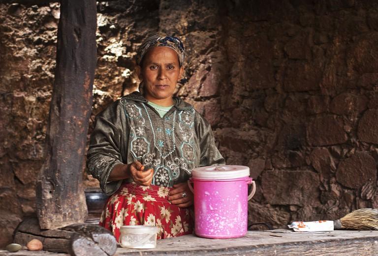 Berber lady