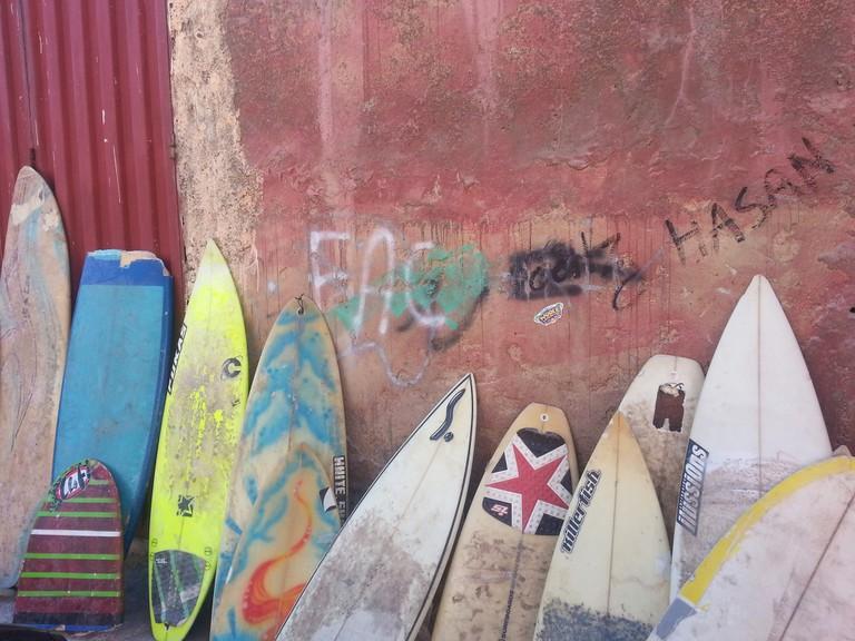 Agadir surfing