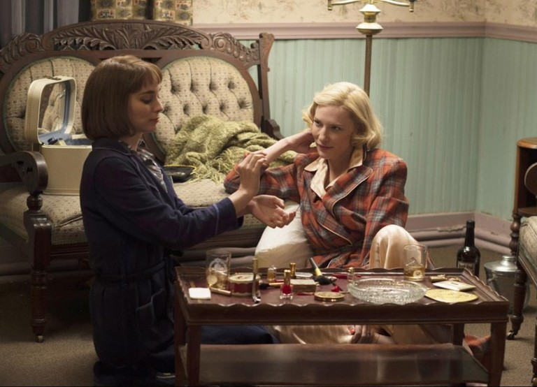 Rooney Mara and Cate Blanchett in 'Carol'   ©StudioCanal