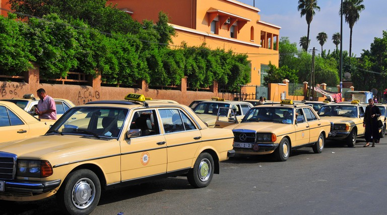 Moroccan taxis